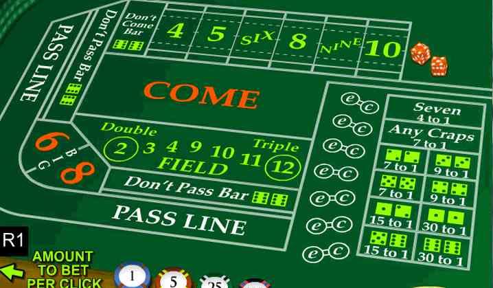 craps game casino